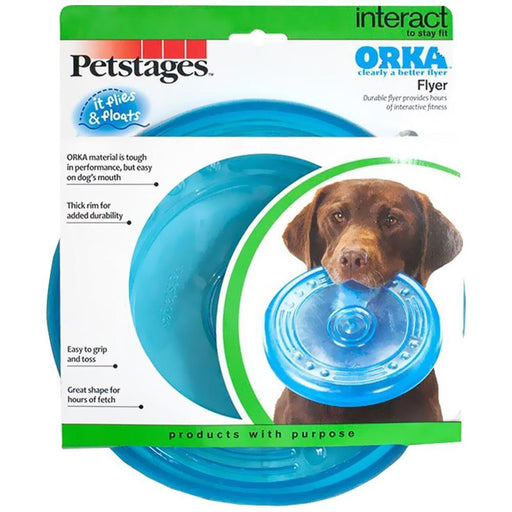 Petstages ORKA Flyer Dog Chew Toy
