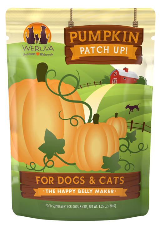 Weruva Pumpkin Patch Up Supplement for Dogs and Cats