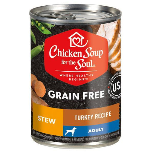 Chicken Soup For The Soul Grain Free Turkey Stew Canned Dog Food