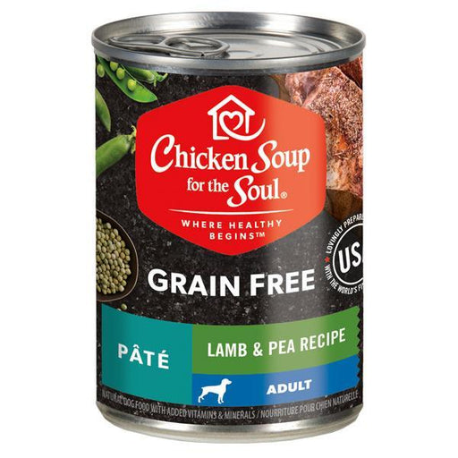 Chicken Soup For The Soul Grain Free Lamb & Pea Pate Canned Dog Food