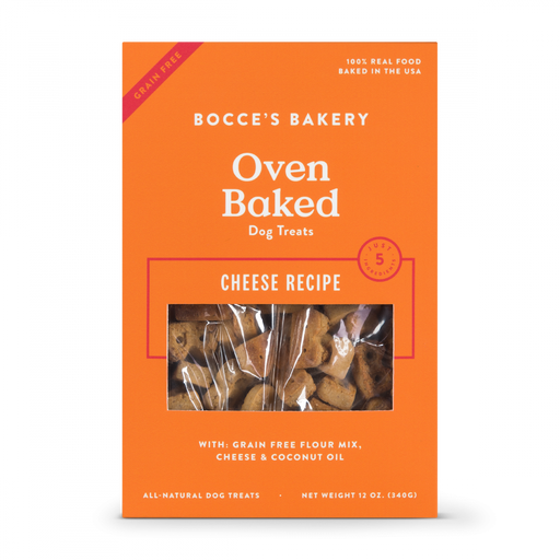 Bocce's Bakery Grain Free Cheese Dog Biscuits