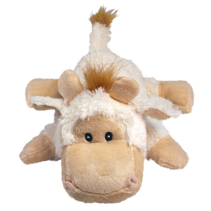 KONG Tupper Goat Medium Cozie Plush Dog Toys