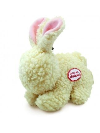Ethical Pet SPOT Vermont Fleece Rabbit Dog Toy