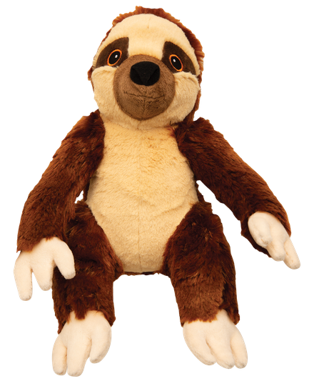 Snugarooz Sasha the Sloth Plush Dog Toy