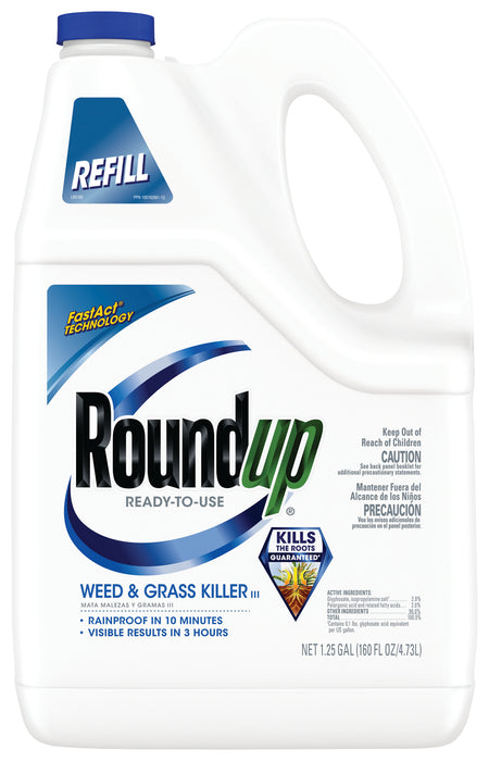 Roundup® Ready-To-Use Weed & Grass Killer III Refill 1.25 gal.
