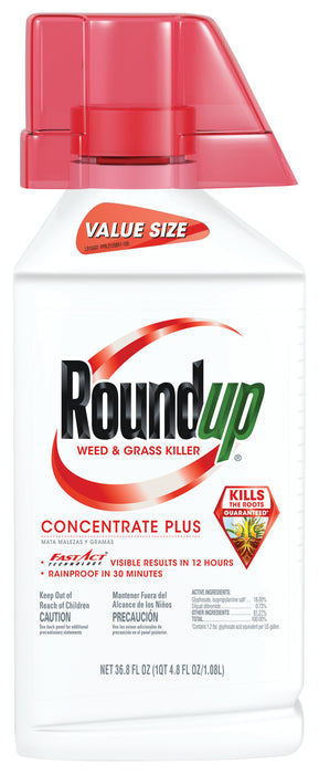Roundup® Weed & Grass Killer Concentrate Plus 36.8 oz