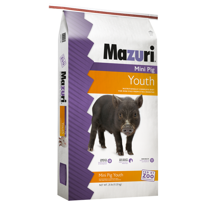 Mazuri Mini Pig Youth 25lbs
