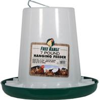 Plastic Poultry Hanging Feeder - Multiple Sizes Available