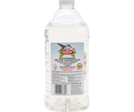 Clear Liquid Hummingbird Nectar Concentrate, 64 oz.
