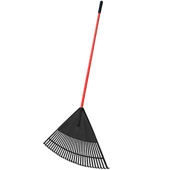 "Agway 30"" Poly Rake With Fiberglass Handle"