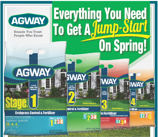 Agway 4 Stage Fertilizer Program