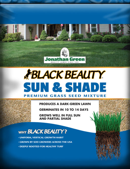 Jonathan Green Black Beauty Sun & Shade Grass Seed