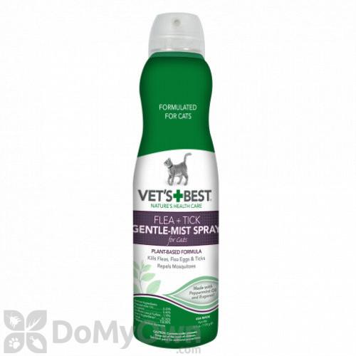 Vet's Best Flea + Tick Gentle Mist Spray for Cats