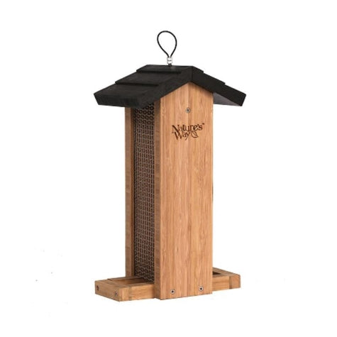Nature's Way Bamboo Vertical Mesh Feeder