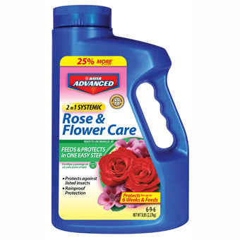 Bayer BioAdvanced 2-In-1 Systemic Rose & Flower Care 5 lbs.