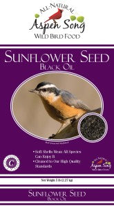 Aspen Song Black Oil Sunflower Seed
