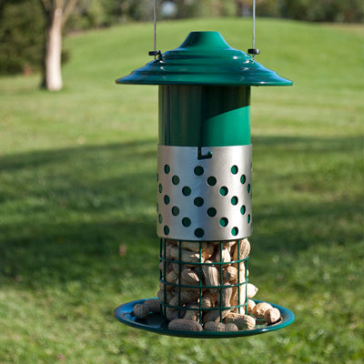 Peanut, Suet Ball and Mealworm Combination Feeder