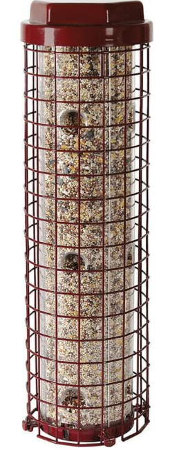 Dilemma E-Z Caged Bird Feeder, 4lb capacity