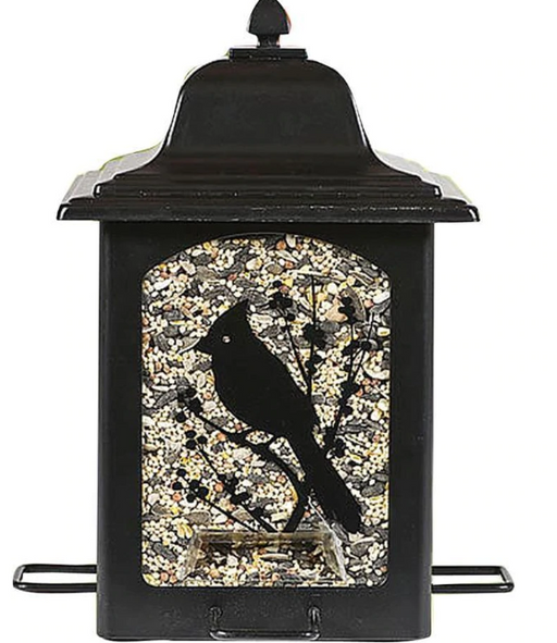 Birds & Berries Design Lantern Feeder, 5lb capacity