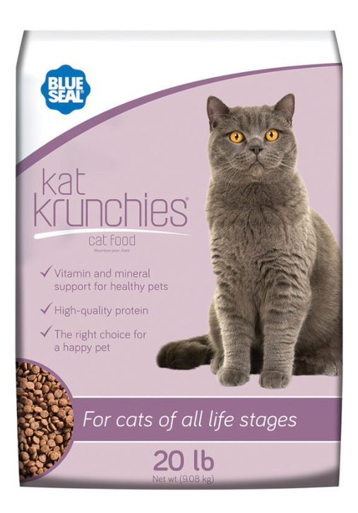 Blue Seal Kat Krunchies, 20 lbs