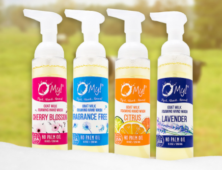 O My! Goat Milk Foaming Hand Wash