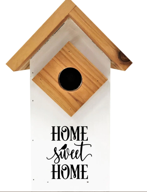 """Home Sweet Home"" Farmhouse Bluebird House"