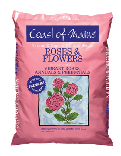 Coast of Maine Rose & Flower Planting Soil
