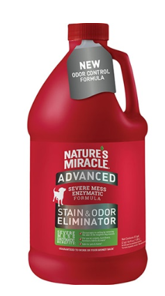 Nature's Miracle Advanced Stain and Odor Eliminator, 1 gal.
