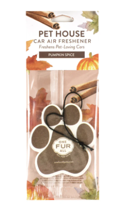 Pet House Car Air Freshener, Pumpkin Spice