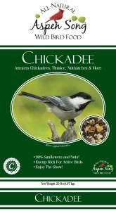 Aspen Song Chickadee Bird Seed