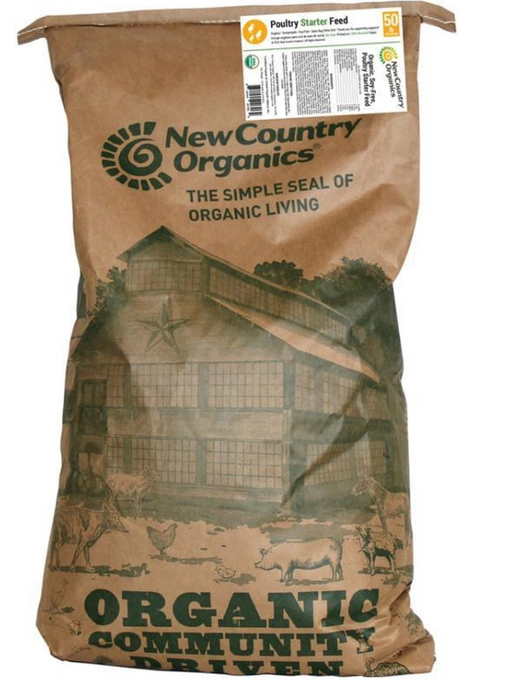 New Country Organics Soy Free Poultry Starter