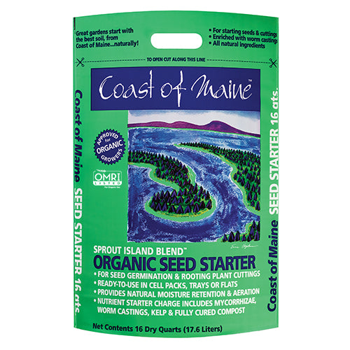 Coast of Maine Sprout Island Seed Starting Mix