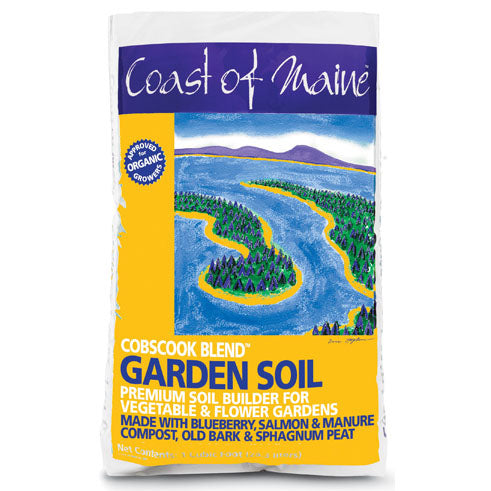 Coast of Maine Cobscook Blend Organic Garden Soil