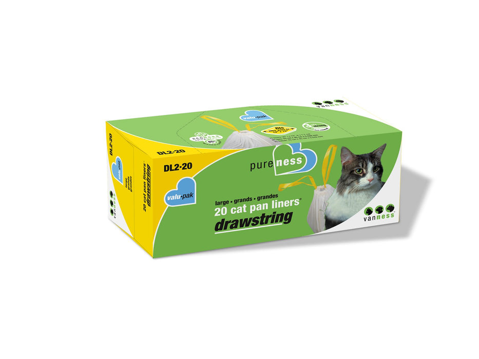 Van Ness Large Drawstring Valu-Pak Cat Pan Liners