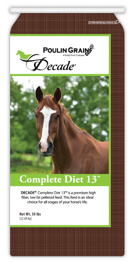 Poulin Grain Decade Complete Diet 13% Pellet
