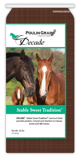 Poulin Grain Decade Stable Sweet Tradition Textured