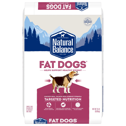 Natural Balance Targeted Nutrition Fat Dogs Low Calorie Dry Dog Food