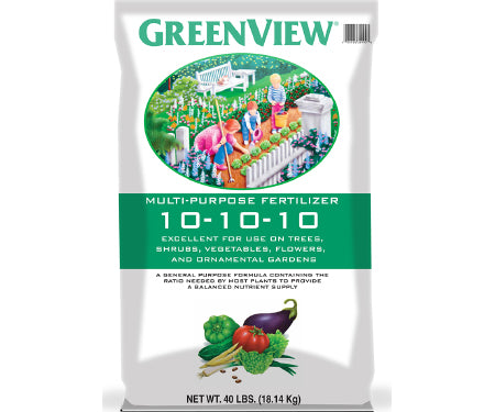 Agway Greenview Multipurpose Fertilizer 10-10-10