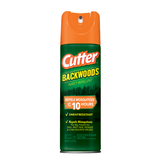 Cutter Backwoods Insect Repellent, 6oz.