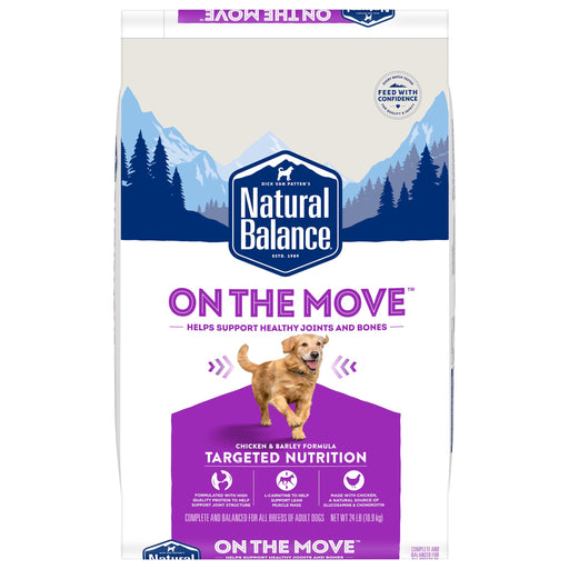 Natural Balance Targeted Nutrition On the Move Dry Dog Food