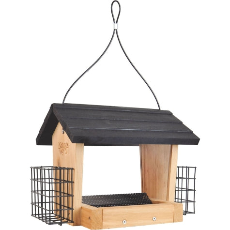 Nature's Way Hopper Feeder with Suet Cakes