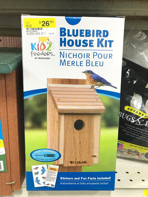 Bluebird House DIY Craft Kit