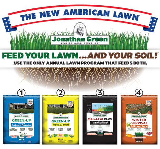 Jonathan Green New American Lawn Program 15,000 sq. ft.