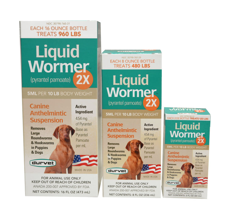 Durvet Liquid Wormer™ 2X