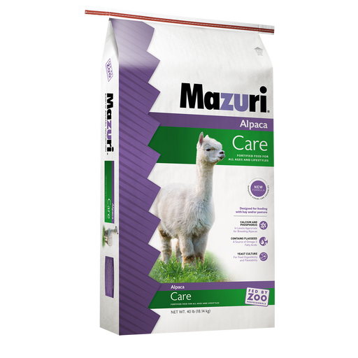 Mazuri Alpaca Care Pellets (Chews) 40lbs