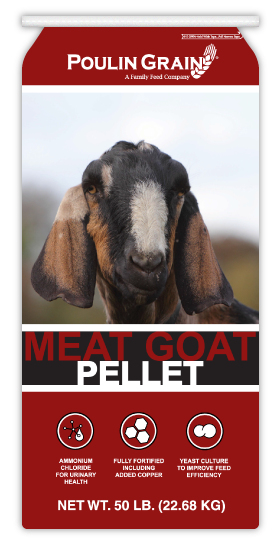 Poulin Grain Meat Goat Pellet