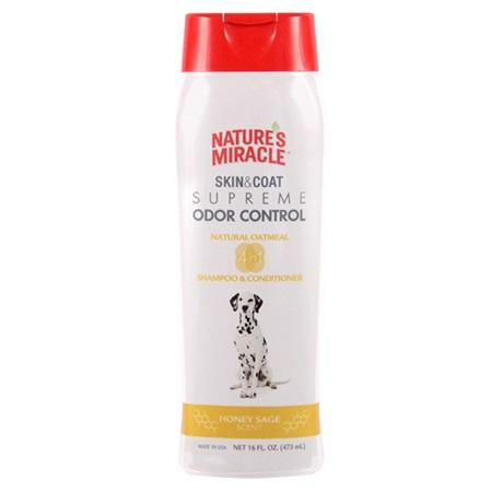 Nature's Miracle Skin & Coat Supreme Odor Control - Oatmeal Shampoo & Conditioner