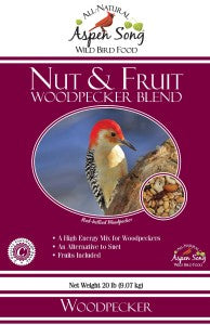 Aspen Song Nut & Fruit Woodpecker