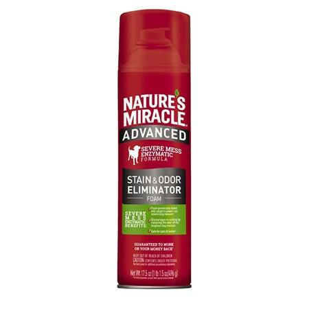 Nature's Miracle Stain and Odor Remover - Foam For Dogs
