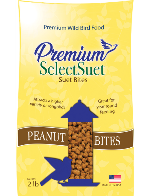 Premium Select Peanut Suet Bites - 2 Sizes Available